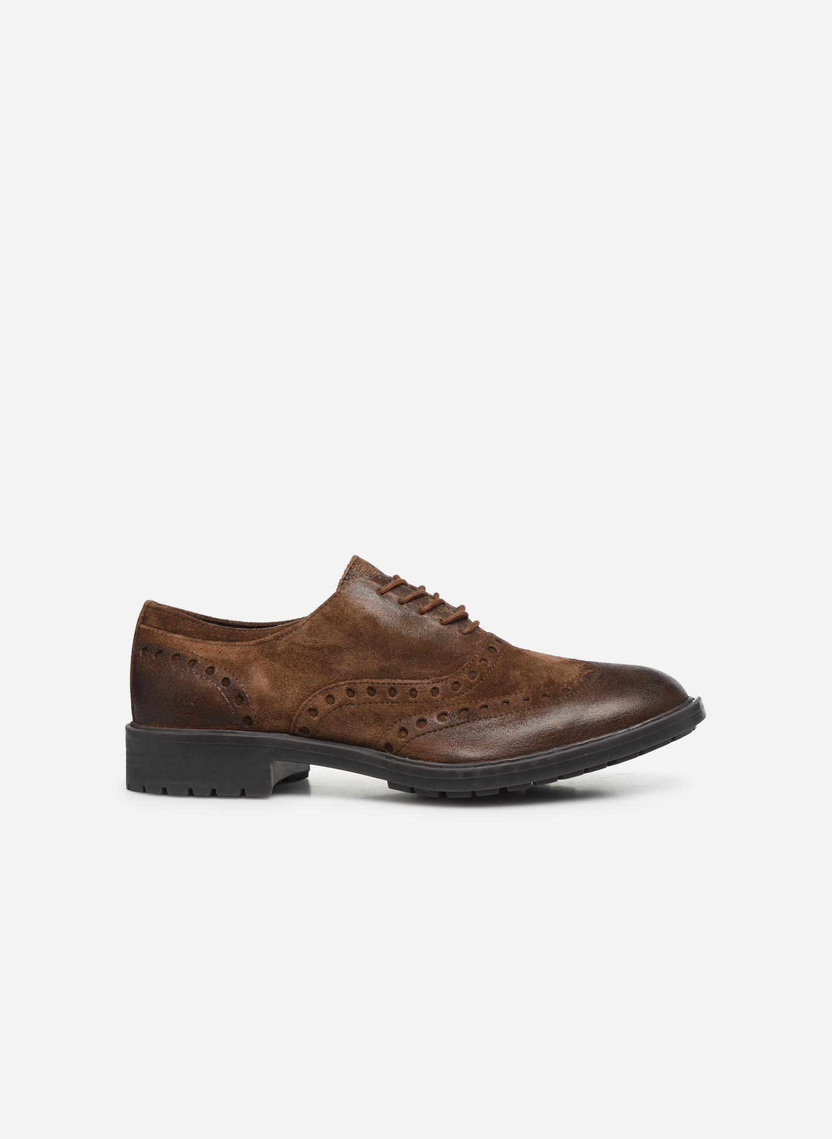 Chaussures à lacets Geox U Kapsian A U743PA Marron vue derrière