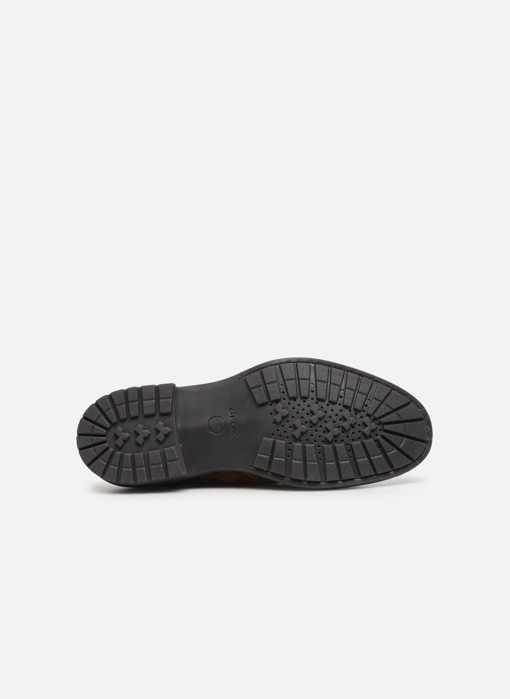 Chaussures à lacets Geox U Kapsian A U743PA Marron vue haut