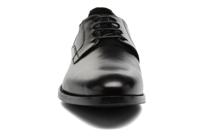 Chaussures à lacets Geox U Hampstead A U74E3A Noir vue portées chaussures