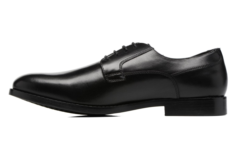 Chaussures à lacets Geox U Hampstead A U74E3A Noir vue face