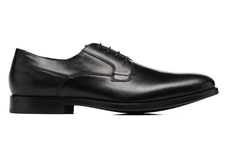 Chaussures à lacets Geox U Hampstead A U74E3A Noir vue derrière