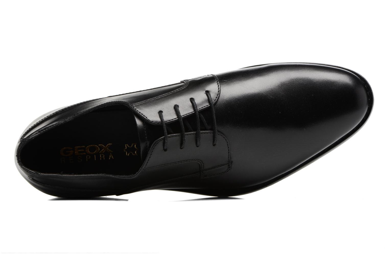 Chaussures à lacets Geox U Hampstead A U74E3A Noir vue gauche