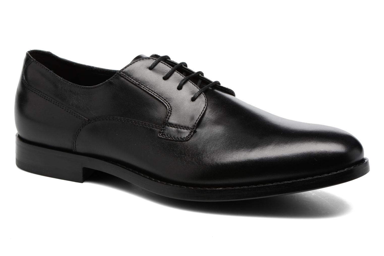 Chaussures à lacets Geox U Hampstead A U74E3A Noir vue détail/paire