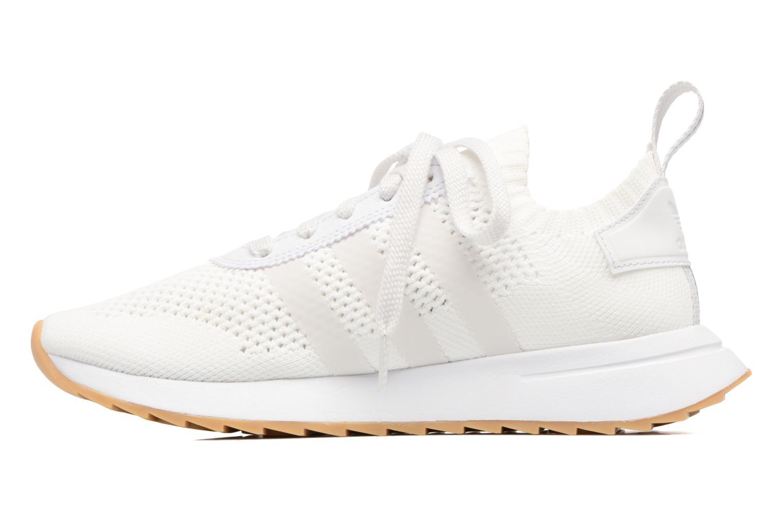 Sneaker Adidas Originals Flb W Pk weiß ansicht von vorne