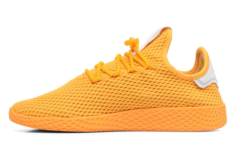 Baskets Adidas Originals Pharrell Williams Tennis Hu Jaune vue face