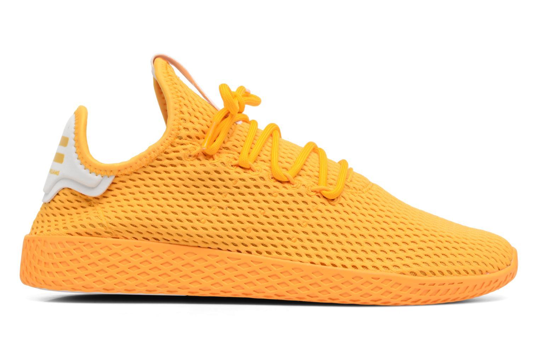 Baskets Adidas Originals Pharrell Williams Tennis Hu Jaune vue derrière