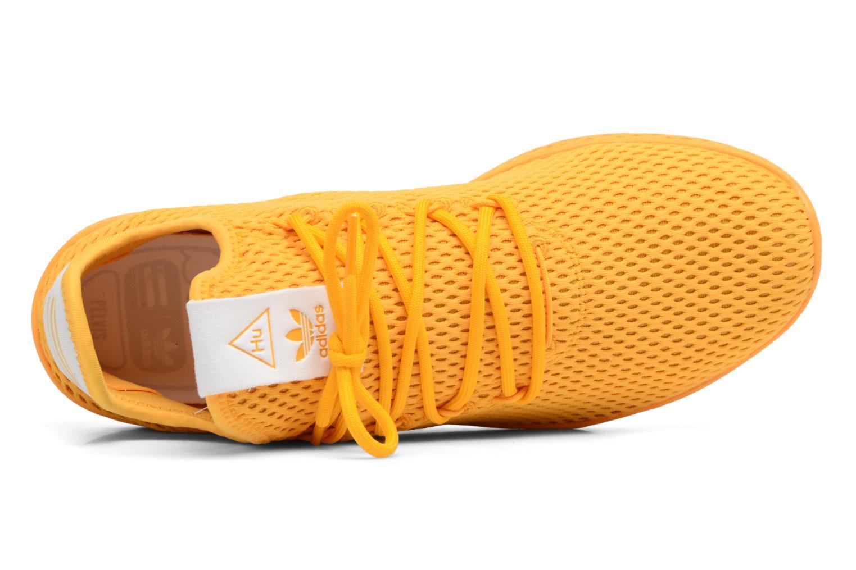 Baskets Adidas Originals Pharrell Williams Tennis Hu Jaune vue gauche