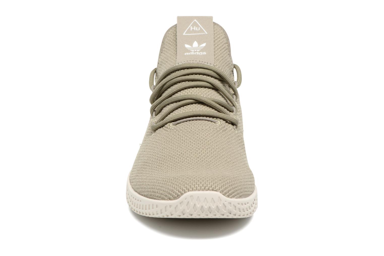 Sneaker Adidas Originals Pharrell Williams Tennis Hu grün schuhe getragen