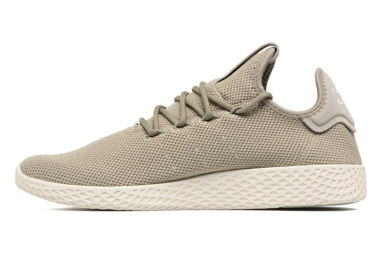 Sneaker Adidas Originals Pharrell Williams Tennis Hu grün ansicht von vorne