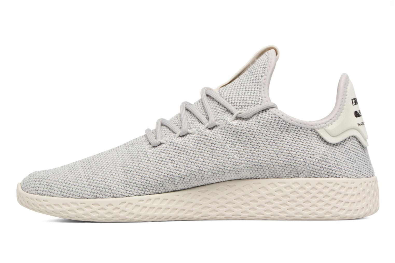 Baskets Adidas Originals Pharrell Williams Tennis Hu Gris vue face