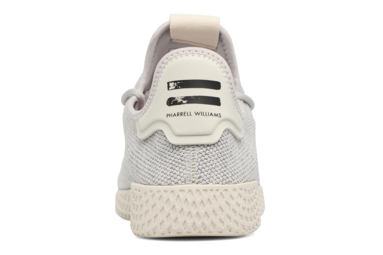 Baskets Adidas Originals Pharrell Williams Tennis Hu Gris vue droite