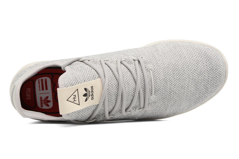 Baskets Adidas Originals Pharrell Williams Tennis Hu Gris vue gauche