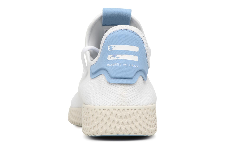 Baskets Adidas Originals Pharrell Williams Tennis Hu Blanc vue droite