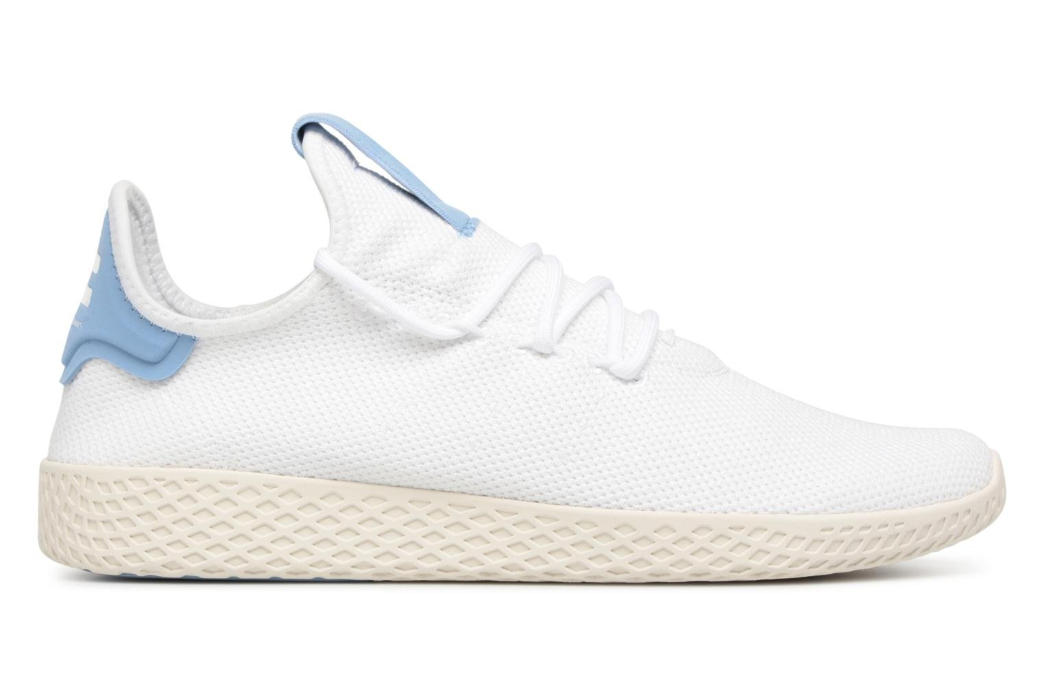 Sneakers Adidas Originals Pharrell Williams Tennis Hu Wit achterkant