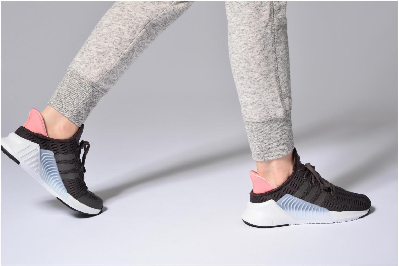 Baskets Adidas Originals Climacool 02/17 W Rose vue bas / vue portée sac