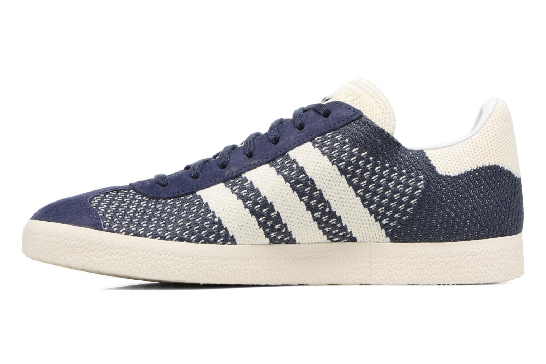 Baskets Adidas Originals Gazelle Pk Bleu vue face