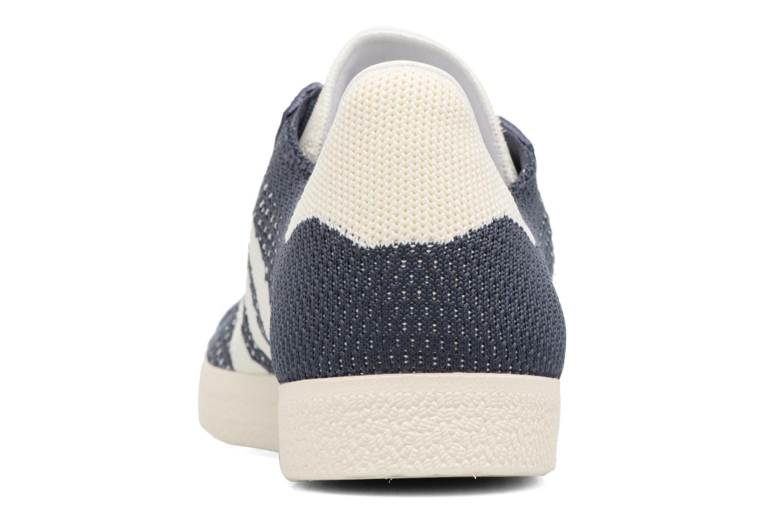 Baskets Adidas Originals Gazelle Pk Bleu vue droite