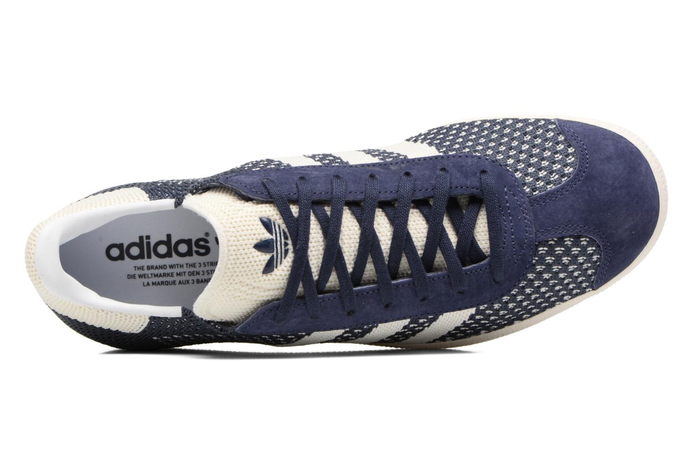 Baskets Adidas Originals Gazelle Pk Bleu vue gauche