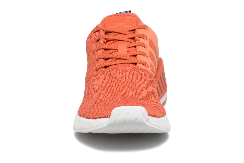 Baskets Adidas Originals Nmd_R2 Rouge vue portées chaussures