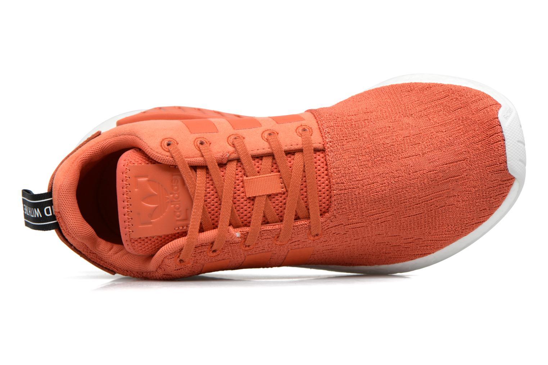 Baskets Adidas Originals Nmd_R2 Rouge vue gauche
