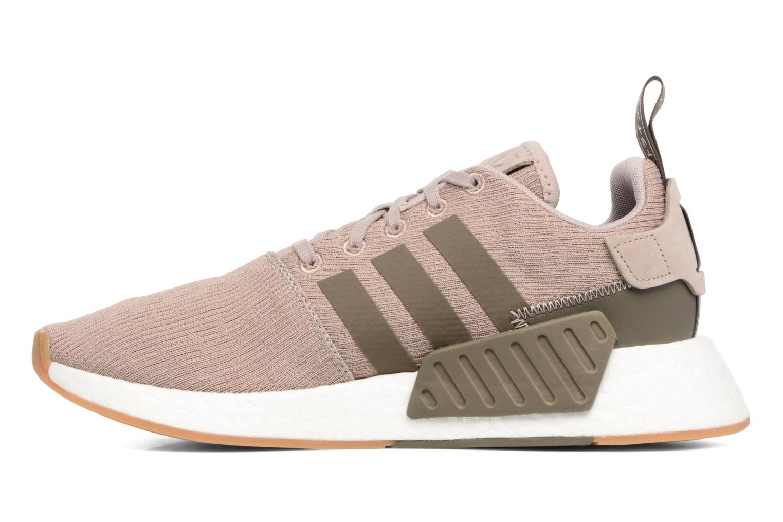 Sneaker Adidas Originals Nmd_R2 braun ansicht von vorne