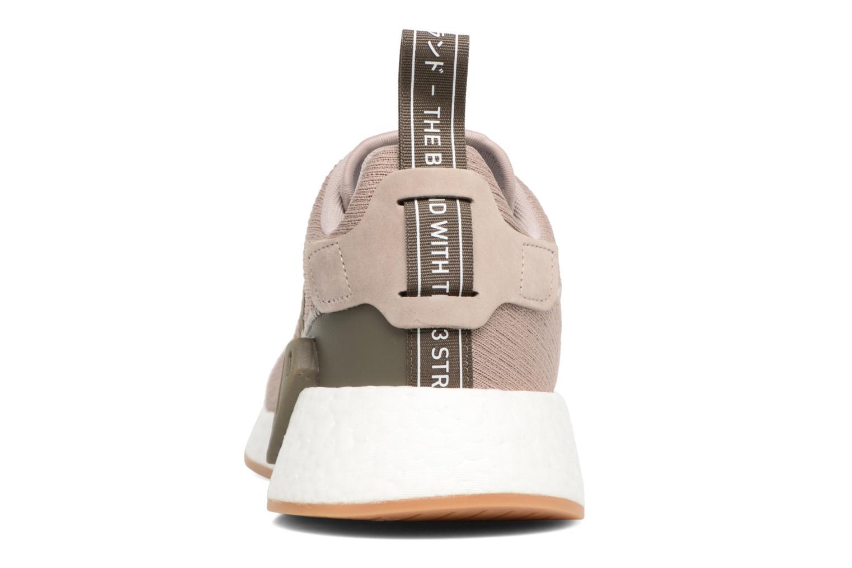 Sneaker Adidas Originals Nmd_R2 braun ansicht von rechts