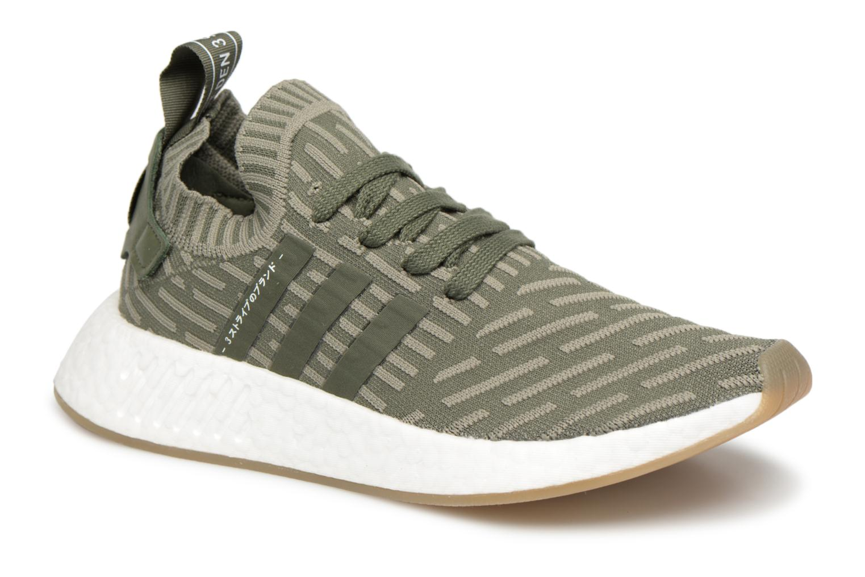 Adidas Originals Nmd_R2 Pk W (Vert) - Baskets chez Sarenza (339266)