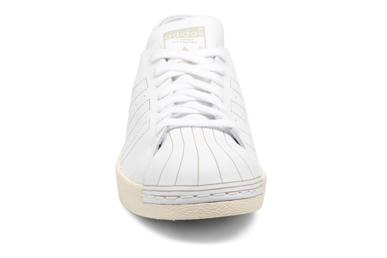 Sneaker Adidas Originals Superstar 80S Decon weiß schuhe getragen
