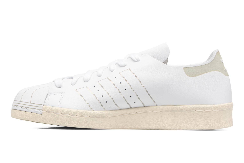 Sneaker Adidas Originals Superstar 80S Decon weiß ansicht von vorne