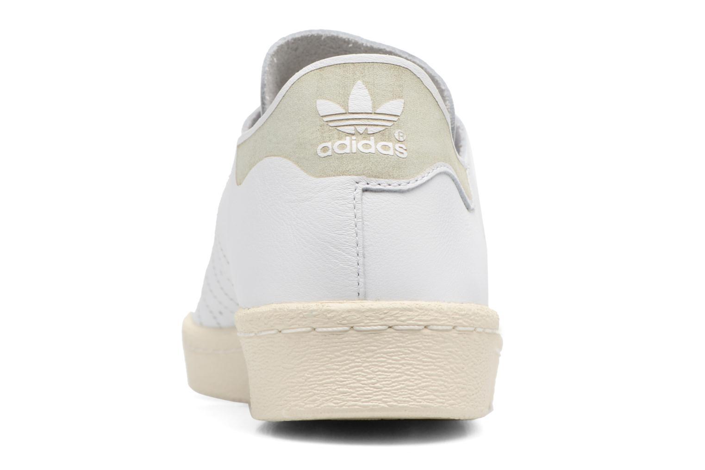 Baskets Adidas Originals Superstar 80S Decon Blanc vue droite