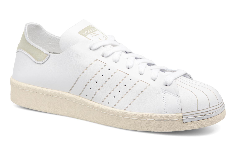 Baskets Adidas Originals Superstar 80S Decon Blanc vue détail/paire