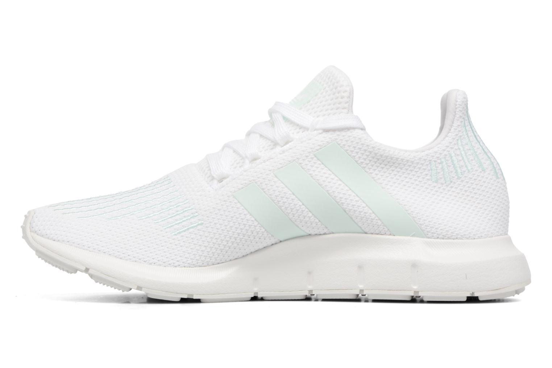 Sneaker Adidas Originals Swift Run W grau ansicht von vorne