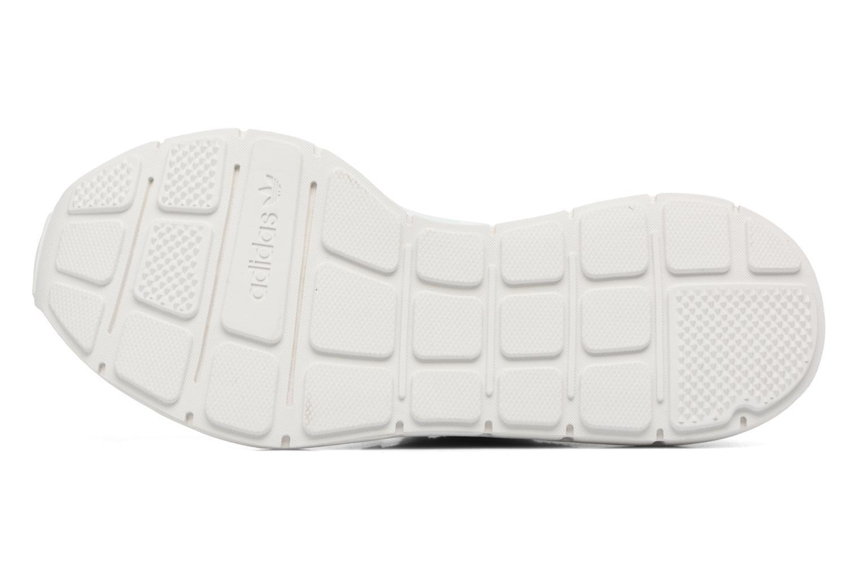 Baskets Adidas Originals Swift Run W Gris vue haut