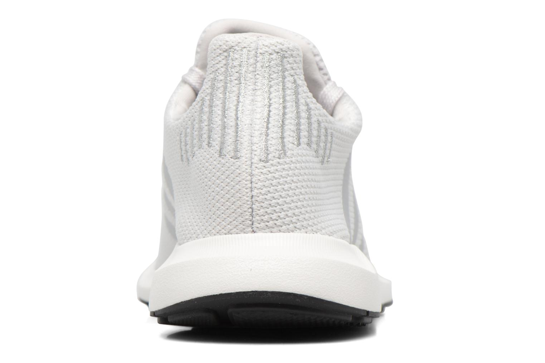Deportivas Adidas Originals Swift Run W Plateado vista lateral derecha