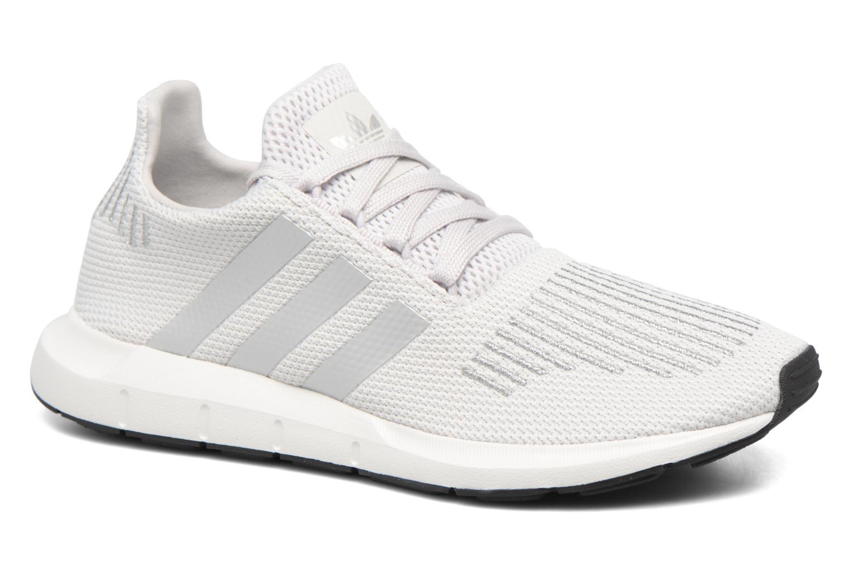 Deportivas Adidas Originals Swift Run W Plateado vista de detalle / par