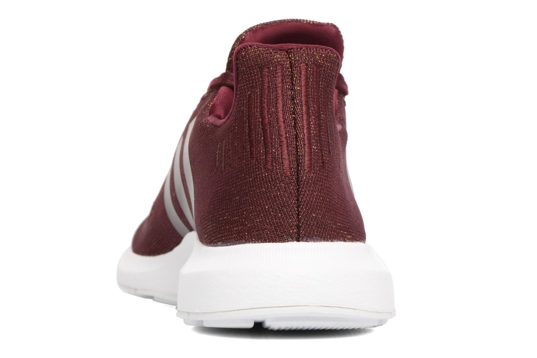 Baskets Adidas Originals Swift Run W Bordeaux vue droite