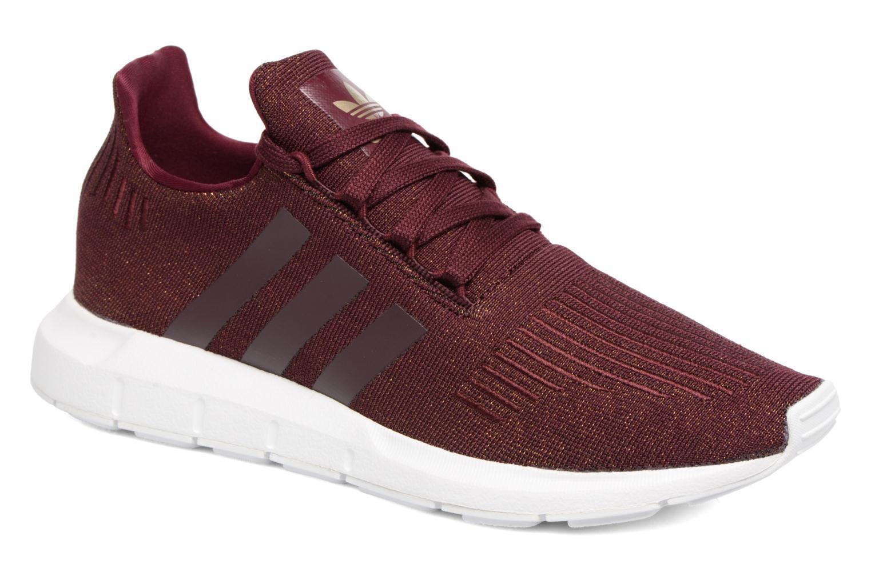 Trainers Adidas Originals Swift Run W Burgundy detailed view/ Pair view