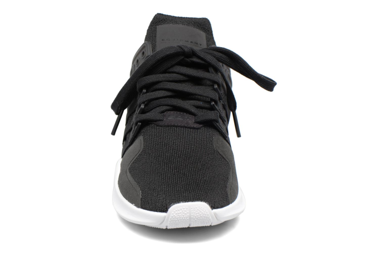 Sneaker Adidas Originals Eqt Support Adv2 schwarz schuhe getragen