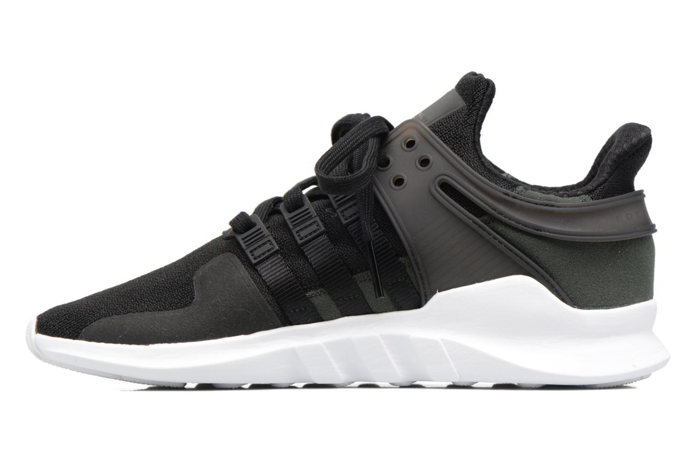 Sneaker Adidas Originals Eqt Support Adv2 schwarz ansicht von vorne