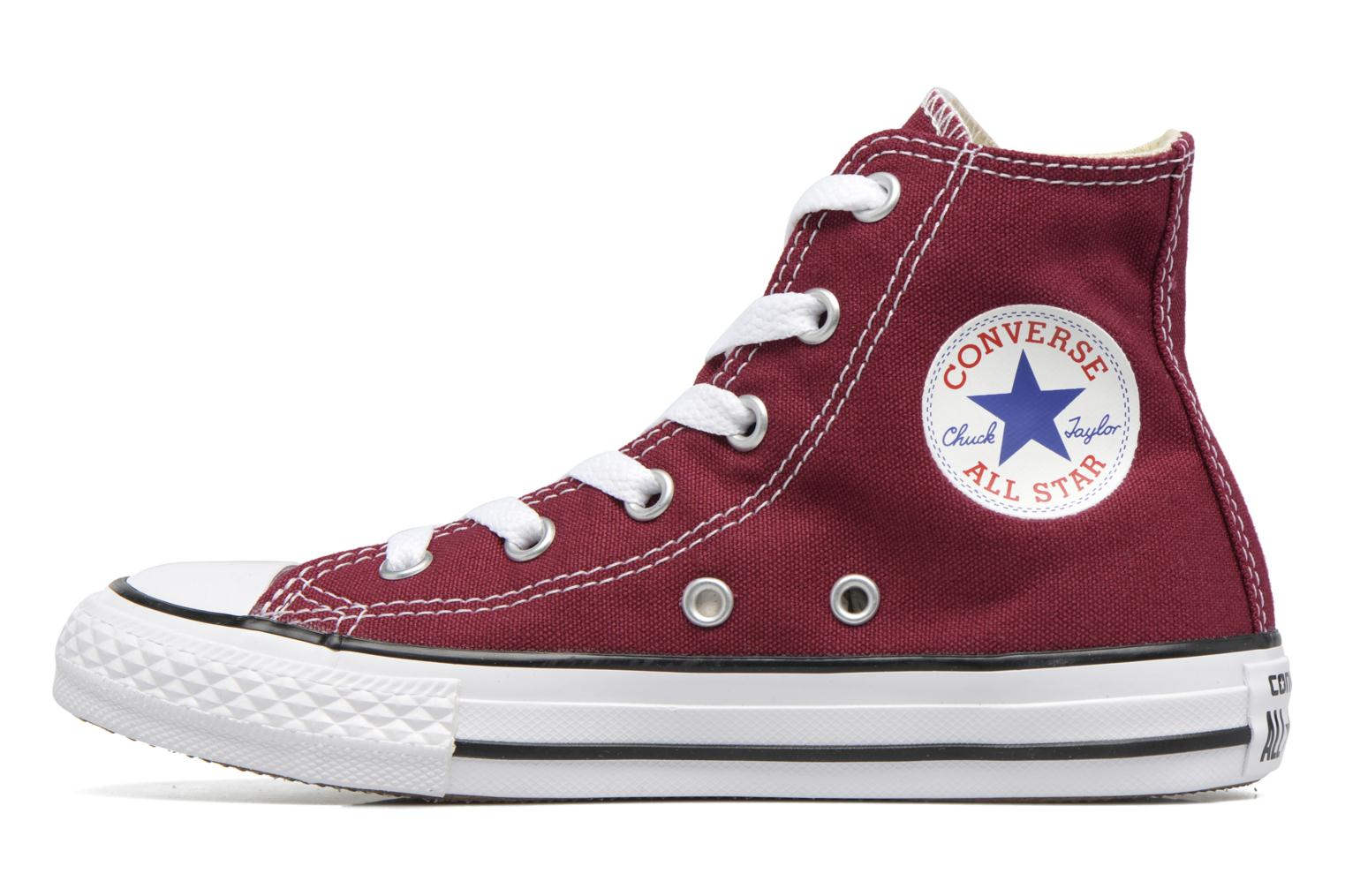 Trainers Converse Chuck Taylor Hi Burgundy front view