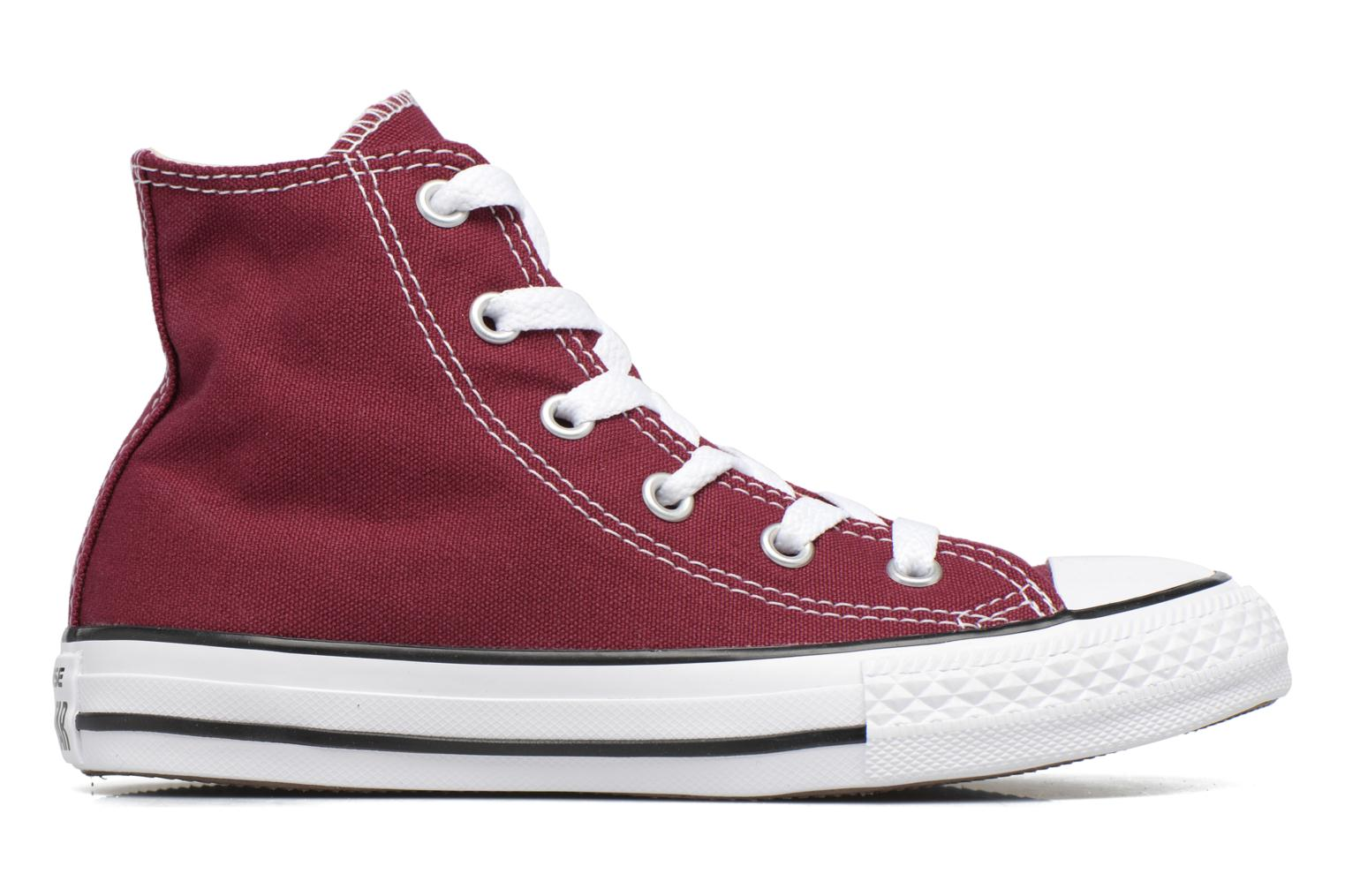 Trainers Converse Chuck Taylor Hi Burgundy back view