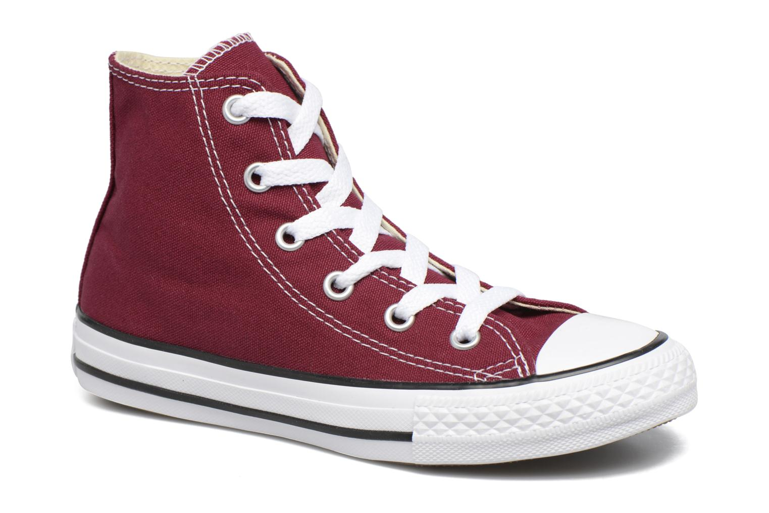 Trainers Converse Chuck Taylor Hi Burgundy detailed view/ Pair view