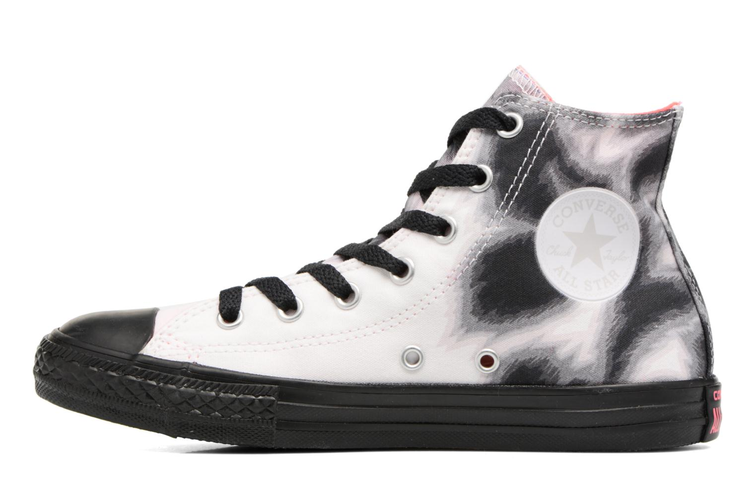 Chuck Black BTS All White White Hi Converse Star Graphic Taylor d7qvdHRw