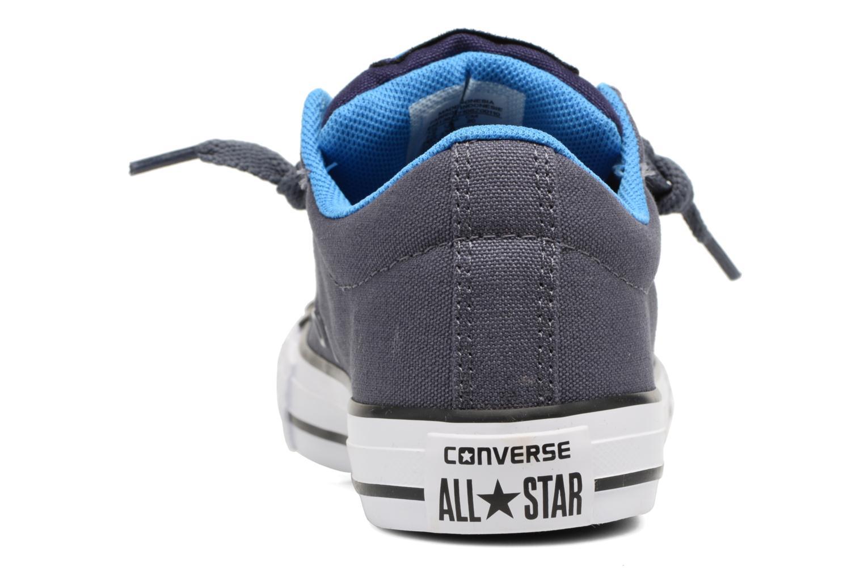 Baskets Converse Chuck Taylor All Star Street Holiday Bleu vue droite