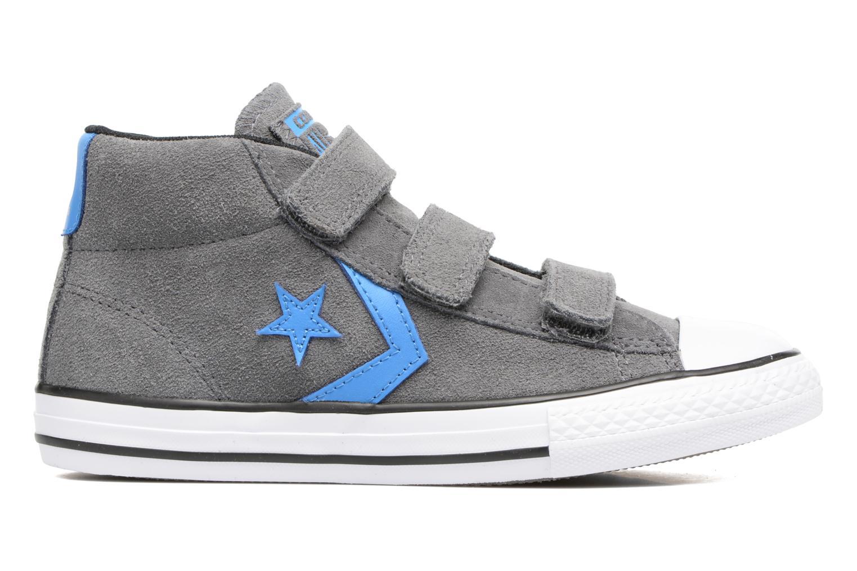 Sneaker Converse Star Player EV V Star Player Suede Mid grau ansicht von hinten