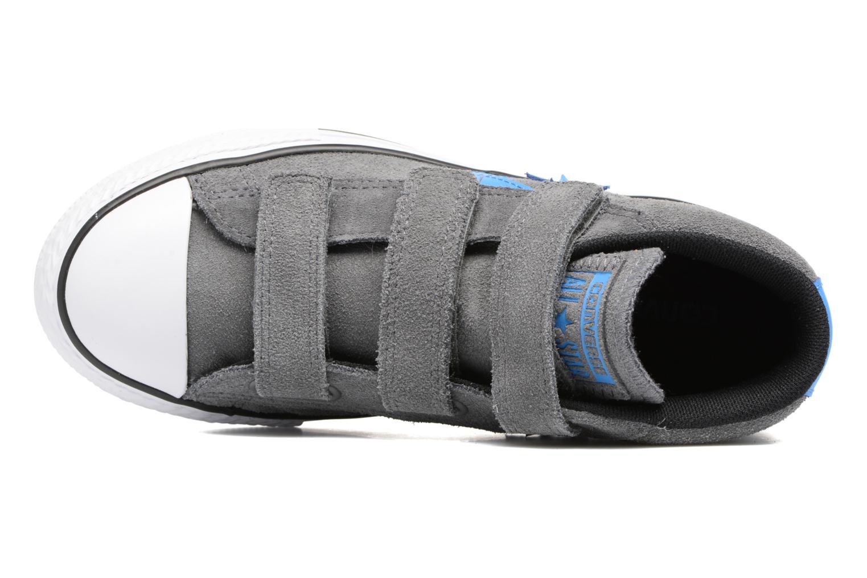 Sneaker Converse Star Player EV V Star Player Suede Mid grau ansicht von links