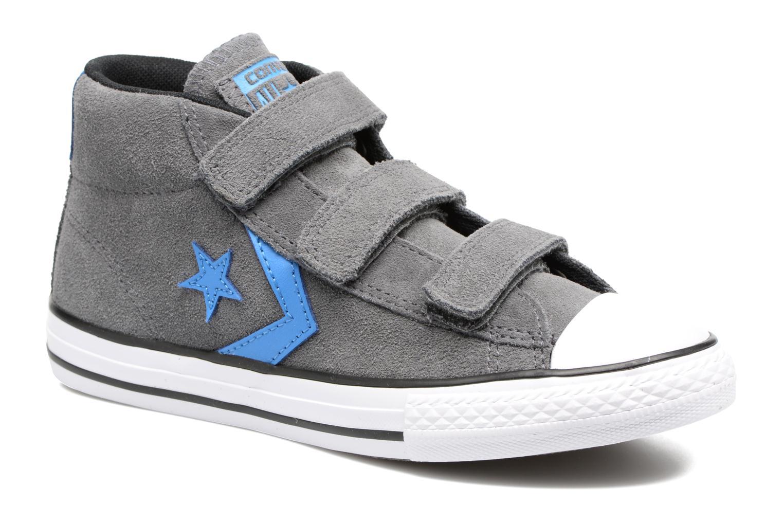 Sneaker Converse Star Player EV V Star Player Suede Mid grau detaillierte ansicht/modell