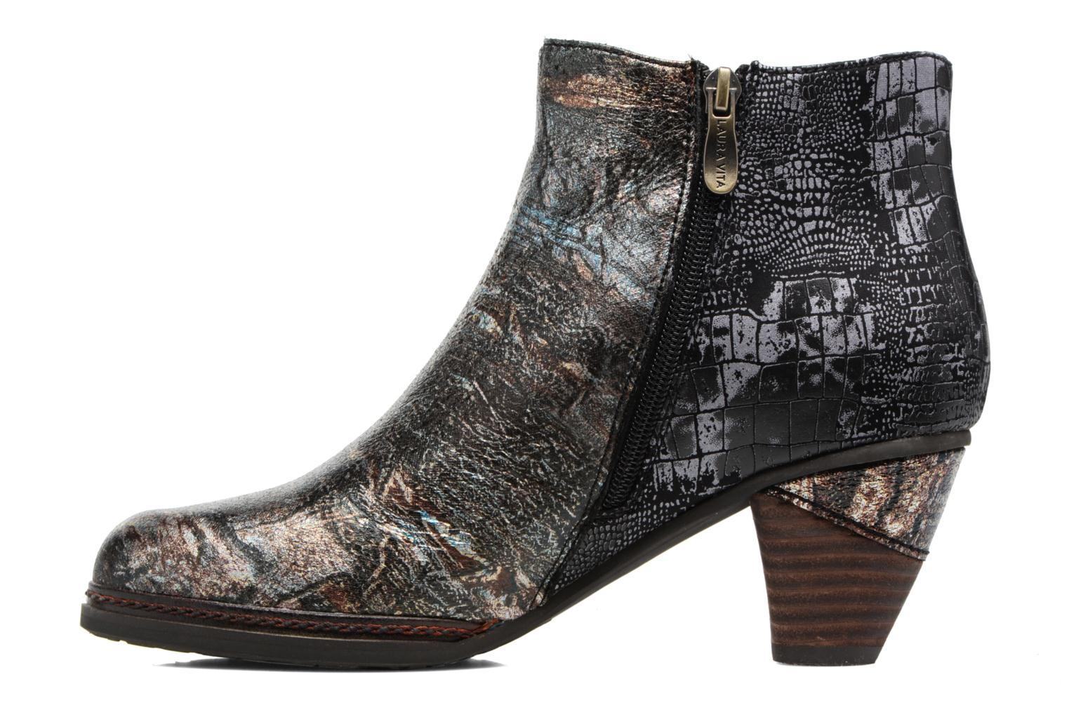 Ankle boots Laura Vita Alizee 41 Silver front view