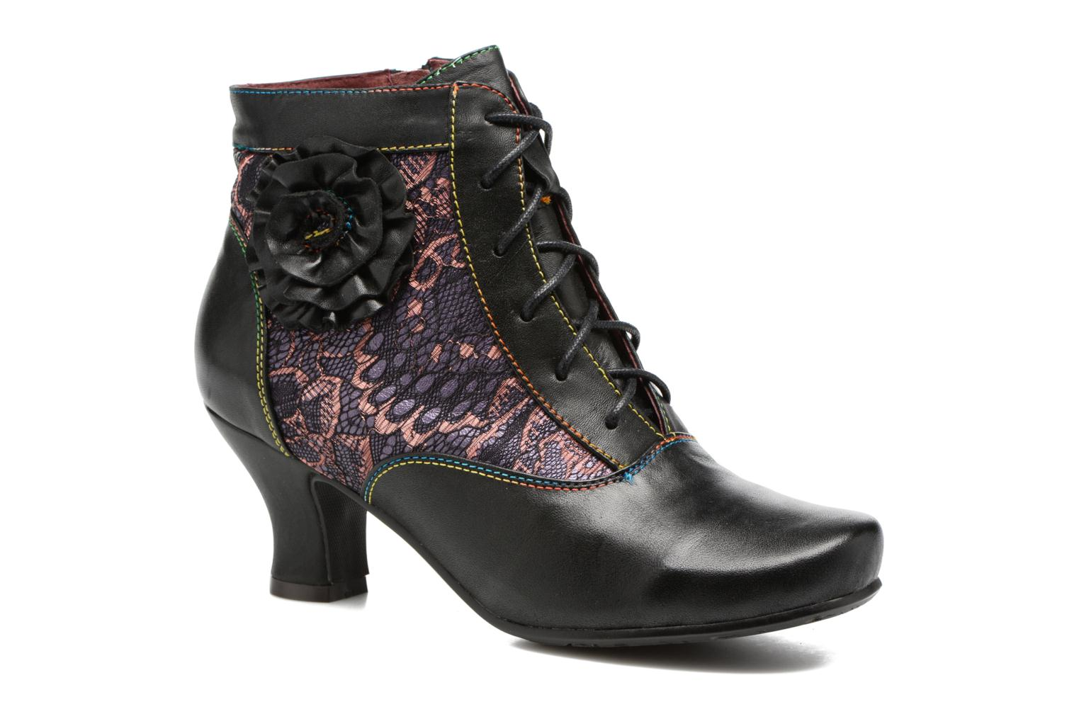 Ankle boots Laura Vita Candice 03 Black detailed view/ Pair view