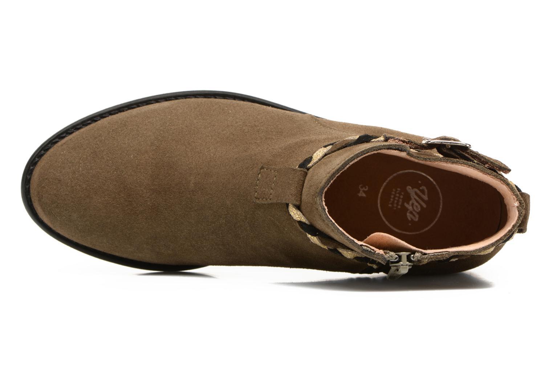Boots en enkellaarsjes Yep Pietra Groen links